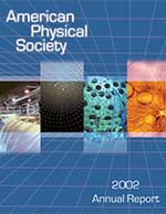 APS Annual Report 2002 cover image