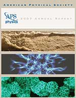 APS Annual Report 2007 cover image
