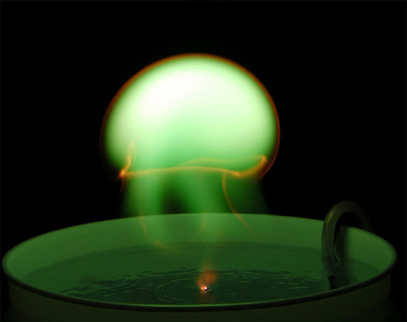 atmospheric pressure ball plasma