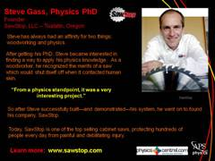 Physics Profile: Steve Gass
