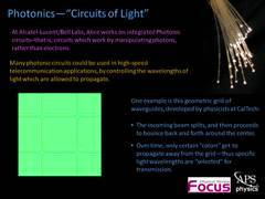 Slide 11: Focus: Photonics