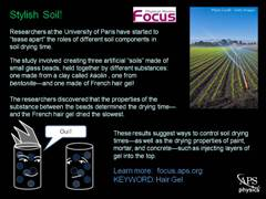 Focus: Stylish Soil!