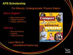 APS Minority Scholarship