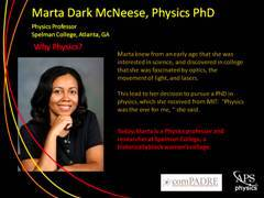 Slide 2: Profile: Marta Dark McNeese