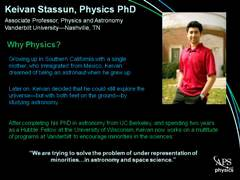 Slide 2: Physics Profile: Keivan Stassun