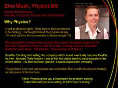 Physics Profile: Elon Musk