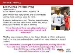 ComPADRE Physics Careers: Michelle O'Brien