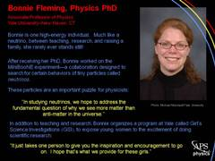 Women Physicists: Bonnie Fleming