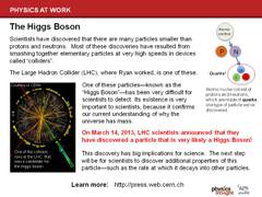 Ryan's Research: Higgs Boson