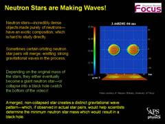 Slide 5: Focus: Orbiting Neutron Stars