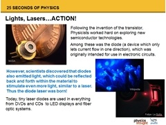 Physics: Laser Diodes
