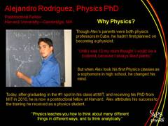 Minority Physicist: Alejandro Rodriguez