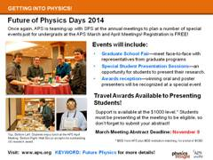 Slide 5: Future of Physics Days 2014