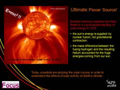 Focus: Ultimate Power Source