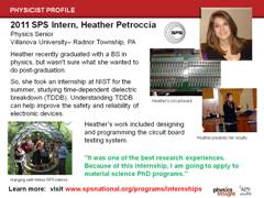 SPS Intern: Heather Petroccia