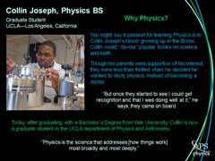 Minority Physicist: Collin Joseph