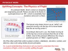 Brent's Work: the Physics of Flight