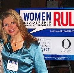 Debbie at Women Leadership conference