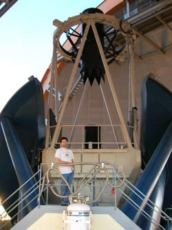 stassun with telescope