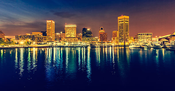 APS April Meeting Heads to Charm City<br /> The city of Baltimore, Maryland will host the 2015 April Meeting.