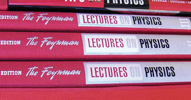 Feynman Lectures Now Freely Available Online<br /> Caltech finishes putting the complete Feynman Lectures online for free.