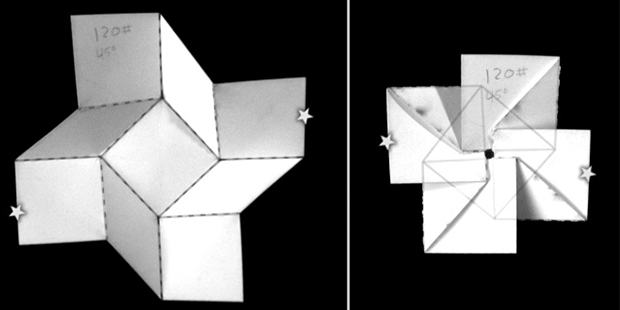Know When to Fold 'em<br />At the APS March Meeting 2015 researchers showed how origami can inspire new devices.