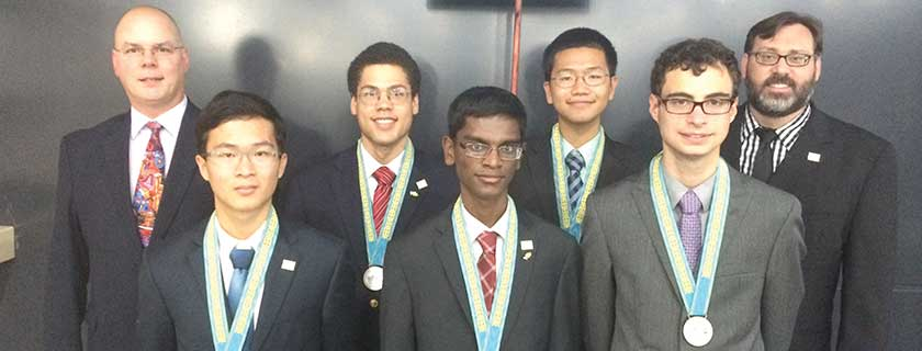 US Physics Olympians Bring Home Gold and Silver<br /> The United States team shone at this year's International Physics Olympiad held in Astana, Kazakhstan.