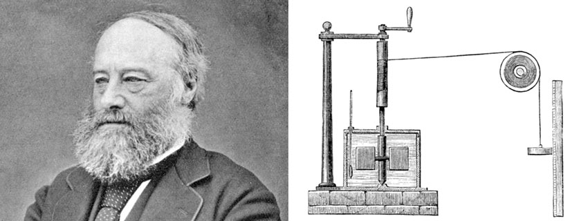This Month in Physics History<br /> June 1849: James Prescott Joule and the Mechanical Equivalent of Heat