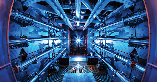 More Basic Research at the National Ignition Facility<br /> Lawrence Livermore's National Ignition Facility is embracing new policies to facilitate more fundamental physics research.