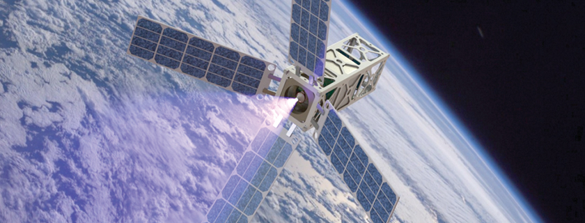 Steering Small-Scale Satellites<br /> Researchers devise propulsion systems for small, inexpensive spacecraft.