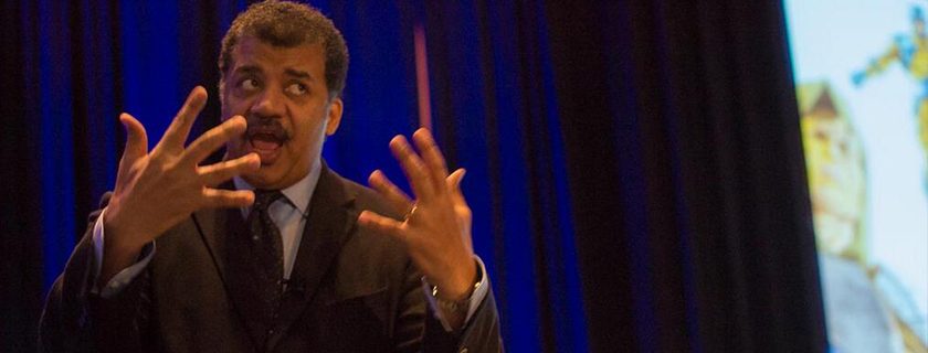 Neil deGrasse Tyson on Science in Popular Culture<br /> Tyson's message to April Meeting attendees is to get the public more interested in science.