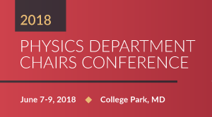 2018 Department Chairs Conference