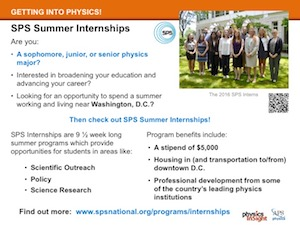 SPS Summer Internship