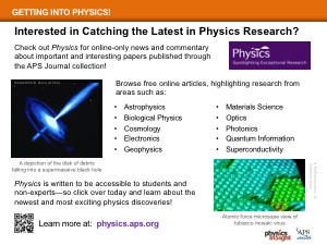APS Online Publication, Physics