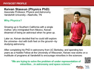 Physicist Profile: Keivan Stassun