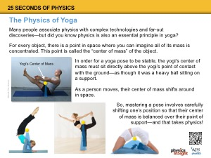 The Physics of Yoga