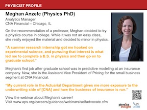 Physicist Profile: Meghan Anzelc