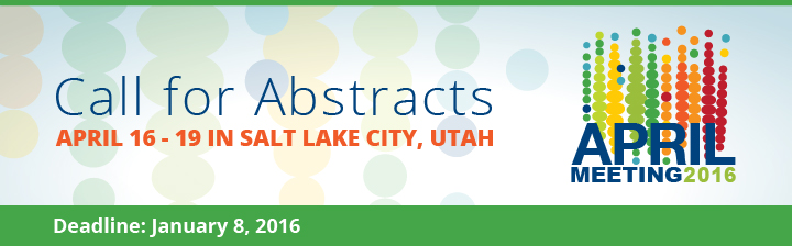 APS April Meeting 2016: Call for Abstracts