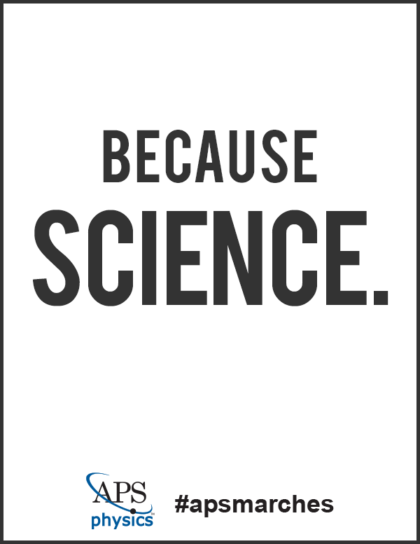 Poster: Because Science
