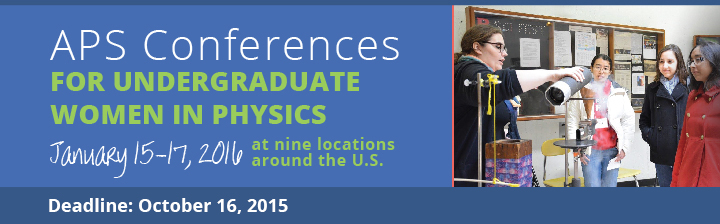 APS Conferences for Undergraduate Women in Physics