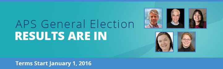 The 2015 APS general election votes are in!