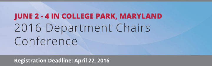 2016 Chairs Conference