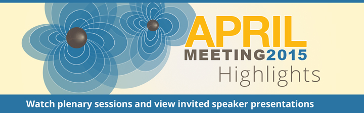 APS April Meeting 2015