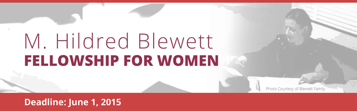 Blewett Fellowship