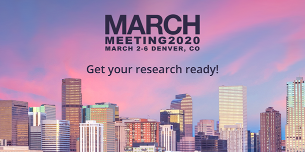 APS March Meeting 2020
