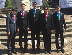 Physics Olympiad Gold