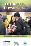 Future of Physics Day April Meeting 2018 undergrad epitome cover