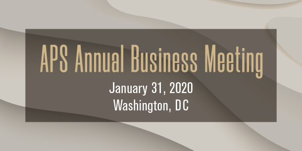Annual Business Meeting banner