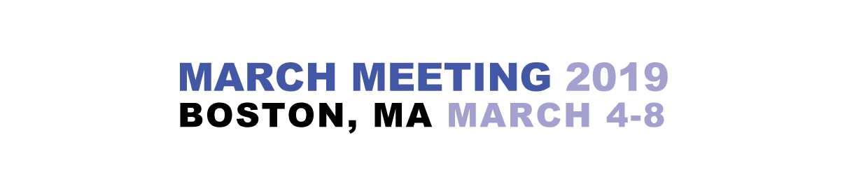 APS March Meeting 2019