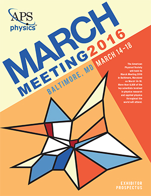 APS March Meeting 2016 Exhibitor Prospectus and Application